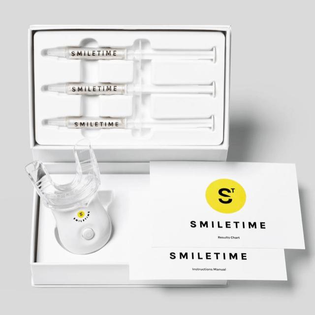 smiletime teeth whitening kit