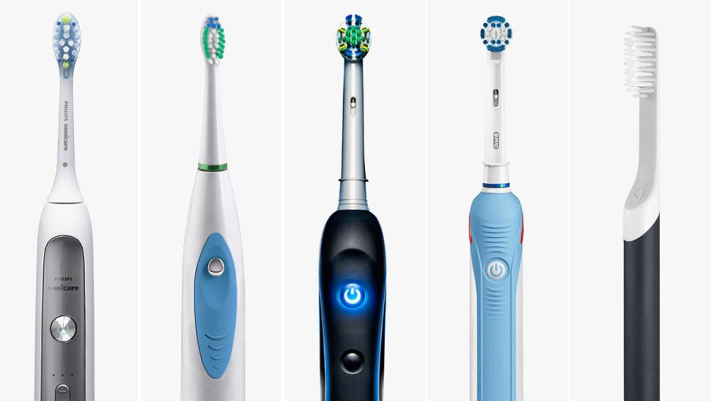 electric toothbrush body shapes