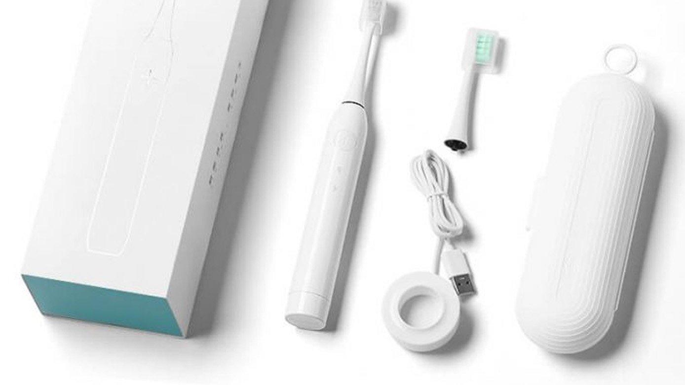 electric toothbrush packaging