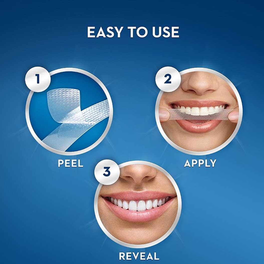 teeth whitening strips use